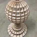 Dřevěné světlo (lampička)