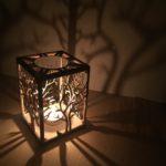 Stínítko na svíčku