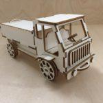 Stavebnice auto dřevo